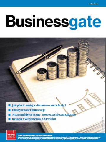 Okładka Business Gate nr 1/2017