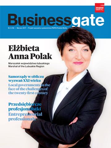 Okładka Business Gate nr 3/2017