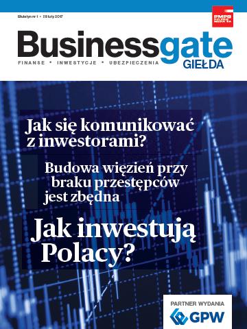 Okładka Business Gate Giełda nr 1/2017