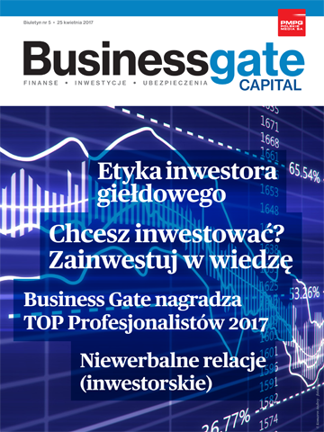 Okładka Business Gate Capital nr 5/2017