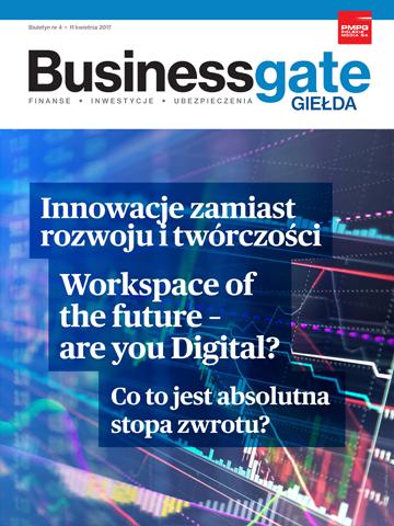 Okładka Business Gate Giełda nr 4/2017