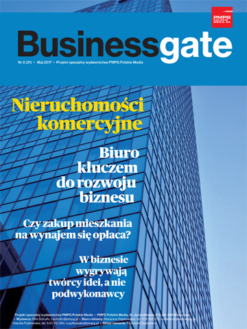 Okładka Business Gate nr 5/2017